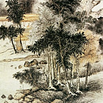 Chinese artists of the Middle Ages - Dai Xi [戴熙 - 忆松图]