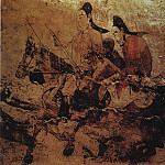 Chinese artists of the Middle Ages - Unknown [佚名 - 出行图(部分)]