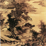 Chinese artists of the Middle Ages - Wu Hong [吴宏 - 柘溪草堂图]