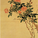 Chinese artists of the Middle Ages - Wu Xizai [吴熙载 - 花卉图]