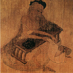 Chinese artists of the Middle Ages - Wang Wei [王维 - 伏生授经图]