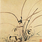 Chinese artists of the Middle Ages - Li Liufang [李流芳 - 山水花卉图(之一、二)]