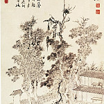 Chinese artists of the Middle Ages - Gao Xiang [高翔 - 弹指阁图]