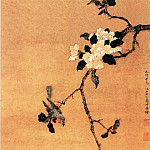 Chinese artists of the Middle Ages - Zhou Shuxi [周淑禧 - 茶花幽禽图]