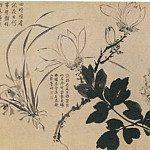Chinese artists of the Middle Ages - Zhou Zhi Mian [周之冕 - 百花图]