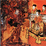 Chinese artists of the Middle Ages - Unknown [佚名 - 列女古贤图(之一、二)]