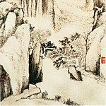 Chinese artists of the Middle Ages - Dai Benxiao [戴本孝 - 黄山图(之一二)]