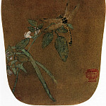 Chinese artists of the Middle Ages - Unknown [佚名 - 豆花蜻蜓图]