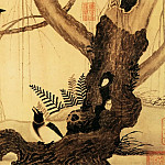 Chinese artists of the Middle Ages - Zhao Ji [赵佶 - 柳鸦芦雁图]