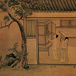 Chinese artists of the Middle Ages - Unknown [佚名 - 蚕织图(部分)]