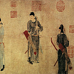 Chinese artists of the Middle Ages - Qian Xuan [钱选 - 杨贵妃上马图]