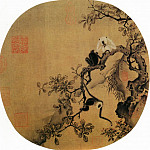 Chinese artists of the Middle Ages - Unknown [佚名 - 猿猴摘果图]