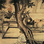 Chinese artists of the Middle Ages - Liu Guandao [刘贯道 - 梦蝶图]