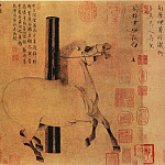 Chinese artists of the Middle Ages - Han Wo [韩斡 - 照夜白图]