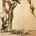 Chinese artists of the Middle Ages - Zhu Da [朱耷 - 枯木寒鸦图]