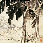 Chinese artists of the Middle Ages - Li Chan [李蝉 - 蕉鹅图]