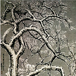 Chinese artists of the Middle Ages - Zhang Yan [张彦 - 雪景梅花图]