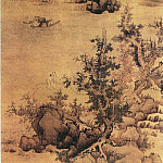 Chinese artists of the Middle Ages - Lan Ying [蓝瑛 - 青绿山水图]