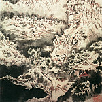 Chinese artists of the Middle Ages - Yuan Ji [原济 - 雪景山水图]