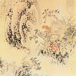 Chinese artists of the Middle Ages - Wanshou Qi [万寿祺 - 山水图]
