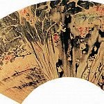 Chinese artists of the Middle Ages - Chen Gua [陈栝 - 芭蕉紫薇图]