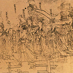 Chinese artists of the Middle Ages - Wu Zongyuan [武宗元 - 朝元仙仗图]
