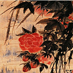 Chinese artists of the Middle Ages - Yuan Ji [原济 - 山水花卉图(之—、二)]