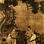 Chinese artists of the Middle Ages - Liu Songnian [刘松年 - 斗茶图(部分)]