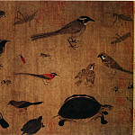 Chinese artists of the Middle Ages - Huang Quan [黄筌 - 写生珍禽图]