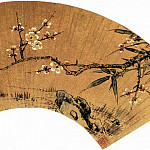 Chinese artists of the Middle Ages - Sun Kehong [孙克弘 - 梅竹图]
