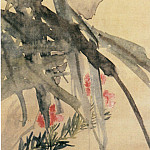Chinese artists of the Middle Ages - Zhu Pi [朱僻 - 桃花白头图]