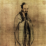 Chinese artists of the Middle Ages - Ma Yuan [马远 - 孔子像]