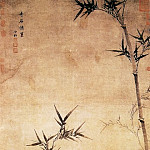 Chinese artists of the Middle Ages - Xia Gao [夏杲 - 奇石修篁图]