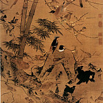 Chinese artists of the Middle Ages - Jing Zhao [边景昭 - 三友百禽图]