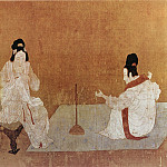 Chinese artists of the Middle Ages - Zhang Xuan [张萱 - 捣练图]
