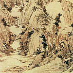 Chinese artists of the Middle Ages - Zheng Zhi [郑吱 - 九龙潭图]