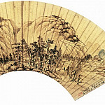 Chinese artists of the Middle Ages - Ye Xin [叶欣 - 金陵八家扇面]