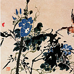 Chinese artists of the Middle Ages - Ren Xun [任薰 - 设色花鸟走兽图]