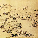 Chinese artists of the Middle Ages - Cheng Sui [程邃 - 山水图(之一、二)]