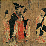 Chinese artists of the Middle Ages - Yan Liben [阎立本 - 历代帝王图(部分)]