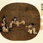 Chinese artists of the Middle Ages - Unknown [佚名 - 浴婴图]