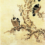 Chinese artists of the Middle Ages - Yuan Shangtong [袁尚统 - 寒鸦图]