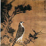 Chinese artists of the Middle Ages - Zhang Shun Weng [张舜咨雪界翁 - 鹰桧图]