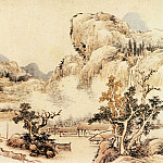 Chinese artists of the Middle Ages - Cai Jia [蔡嘉 - 秋夜读书图]