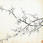 Chinese artists of the Middle Ages - Jin Junming [金俊明 - 梅花图(之一、二)]