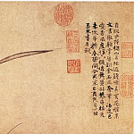 Chinese artists of the Middle Ages - Zhao Meng Jian [赵孟坚 - 水仙图(部分)]