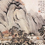 Chinese artists of the Middle Ages - Qian Du [钱杜 - 紫琅仙馆图]