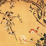 Chinese artists of the Middle Ages - Yan Yue [颜岳 - 桃花双禽图]