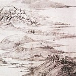 Chinese artists of the Middle Ages - Xiang Sheng Mo [项圣谟 - 且听寒响图(排分)]