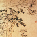 Chinese artists of the Middle Ages - Fang Xun [方薰 - 映花书屋图]